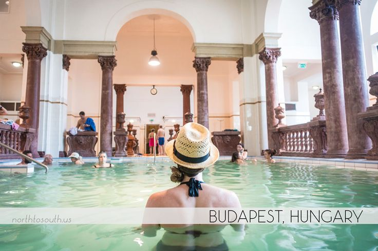 Thermal Baths in Budapest, Hungary