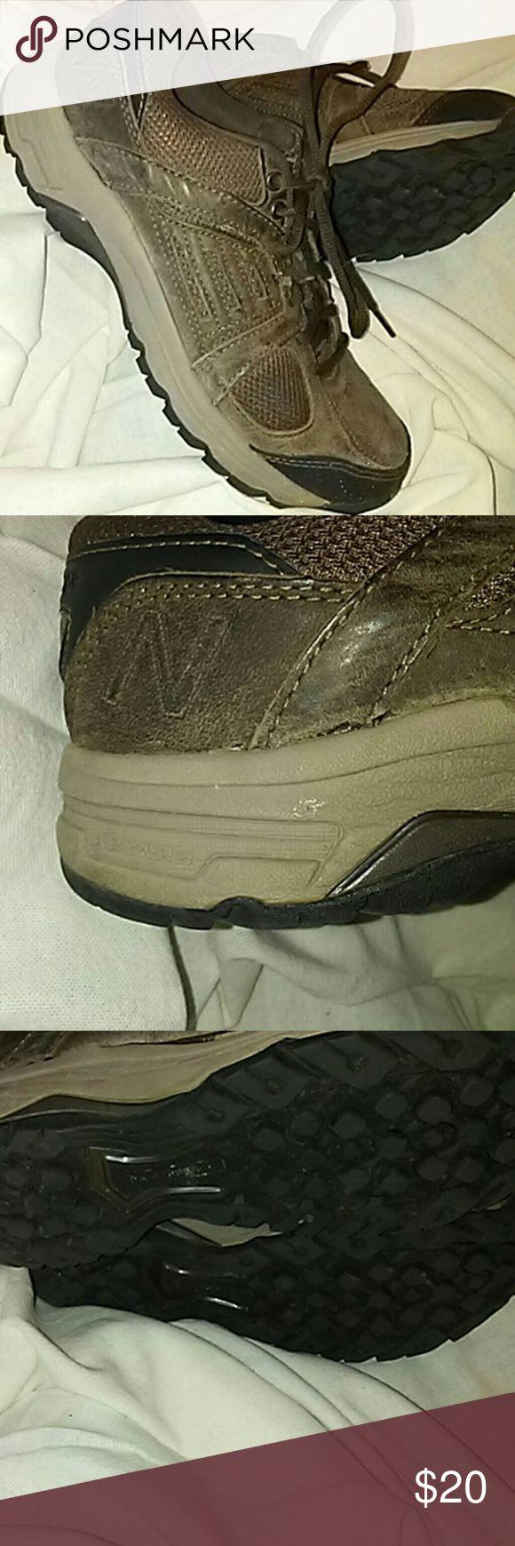Brown Suede Walking Shoe Ladies New Balance 959 Brown Suede Worn Twice New Balance Shoes Athletic Shoes