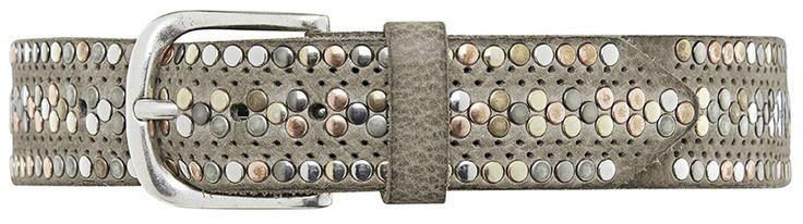 10968 jeans belt, 4 cm, sand.