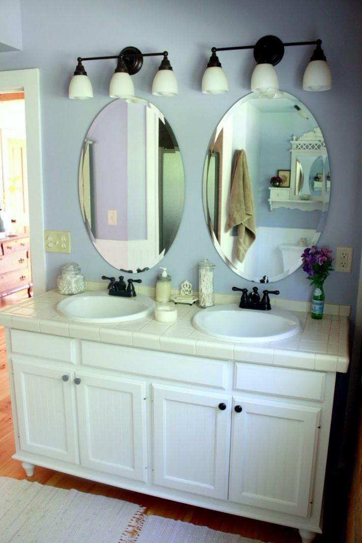 best 25+ oval bathroom mirror ideas on pinterest | half bath