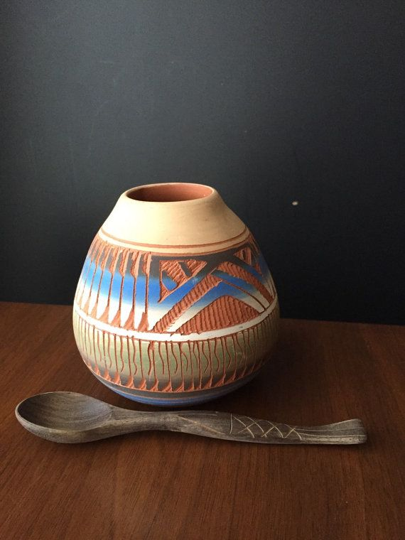 Navajo Pottery Southwestern Home Decor by NotMadeInChinaFinds