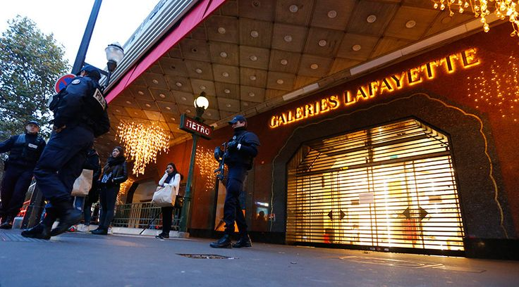 Paris massacre: World mourns 120+ killed in series of terrorist attacks Live updates   Published time: 13 Nov, 2015 21:56Edited time: 14 Nov, 2015 19:34       French police patrol near the closed Galeries Lafayette department store in the shopping district the day after a series of deadly attacks in Paris, France, November 14, 2015    The world is mourning with France, the victims of Friday's terror assaults in Paris that claimed the lives of at least 129 people. Security has been tightened…
