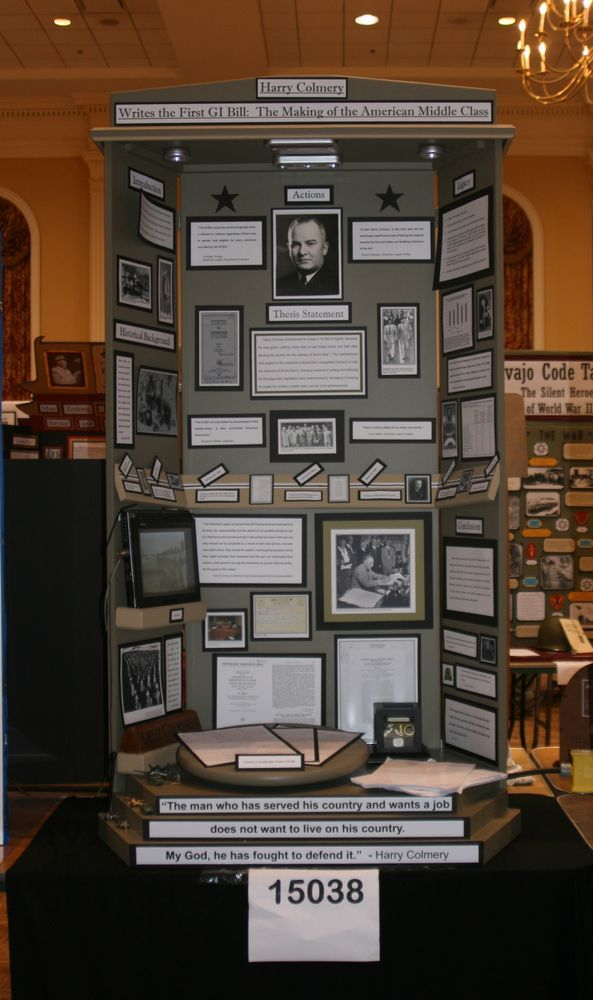 Winner National History Day Exhibit Board : Check this out and other cool websites HERE!
