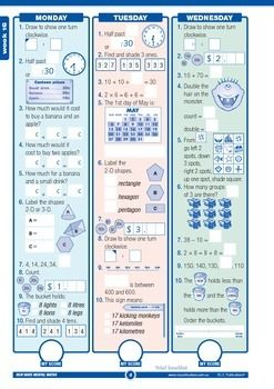 Mental Maths Workbook Sample Year 2 - Australian Curriculum Aligned. Free 16 page printable sample.