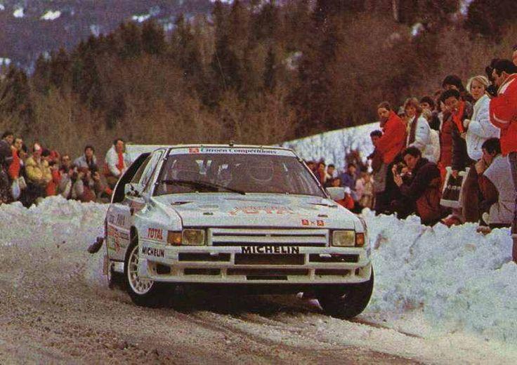 Group B: Citroen BX 4TC Rally car. | WRC Rally School @ http://www.globalracingschools.com