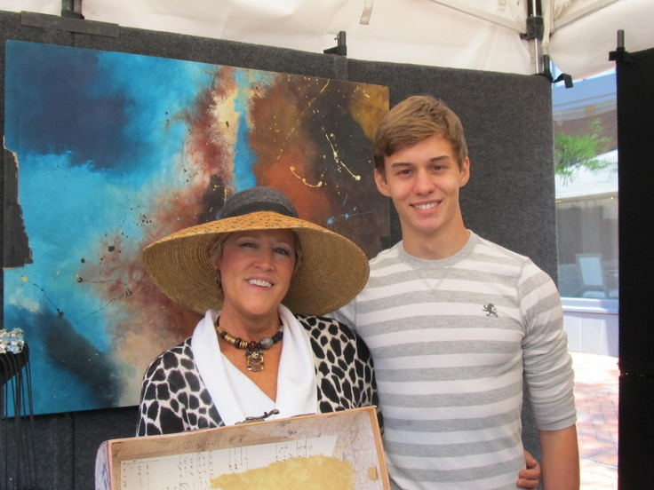 Suzanne Bellows and son Zack: Sons Zack, Howard Alan, Suzanne Bellows, Jewelry Ov, Alan Events