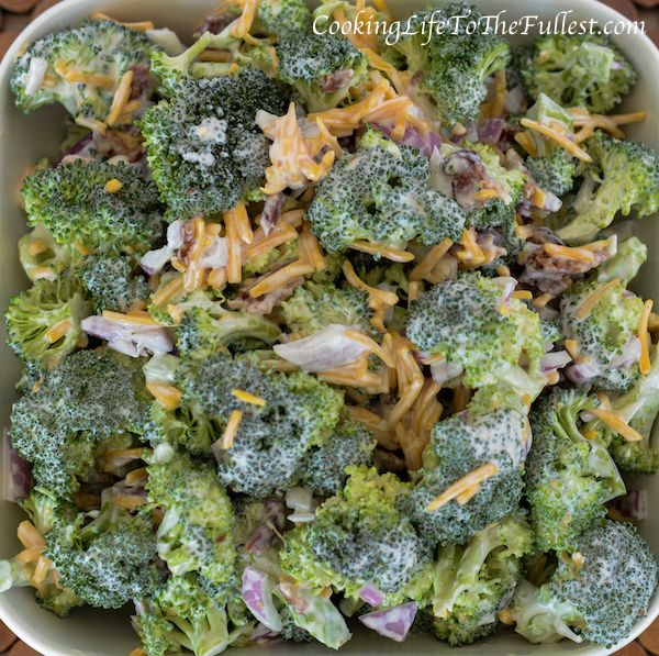 Best 25 Amish Broccoli Salad Ideas On Pinterest
