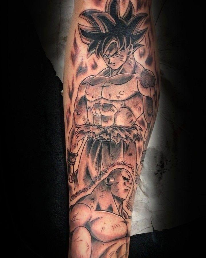 Pin De Dwayne Robinson Em Dbz Tattoo Tatuagens De Anime Tatuagem Tatuagem De Frases No Antebraco