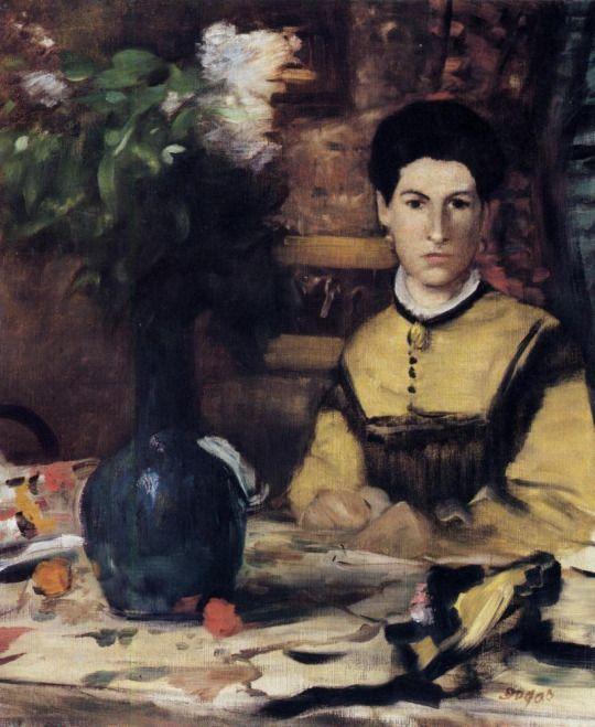 Madame de Rutte by Edgar Degas
