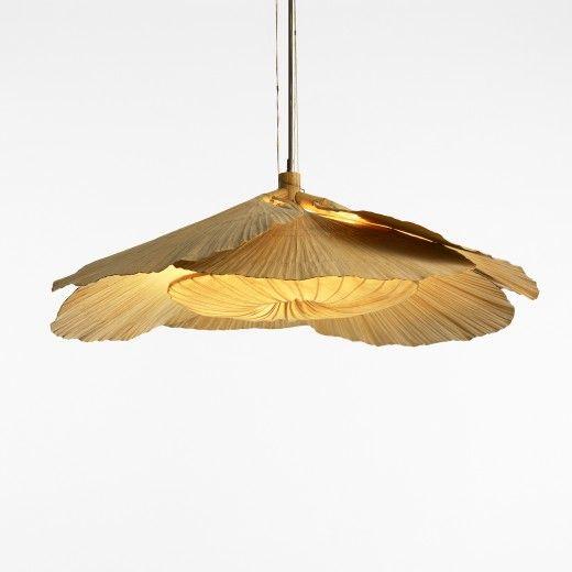 ingo maurer uchiwa fan chandelier germany c 1970. Black Bedroom Furniture Sets. Home Design Ideas