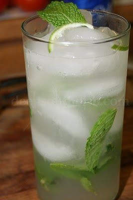 The Perfect Mojito - but the non-alcoholic kind. Use 7-Up or Sprite