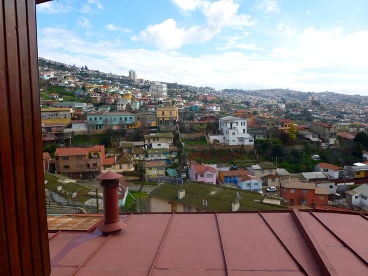 Valparaiso, Chile: Taken from La Sebastiana, Pablo Neruda's house in Valparaiso (Larry Kogan '13)