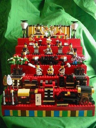 LEGO japanese Hina ningyo