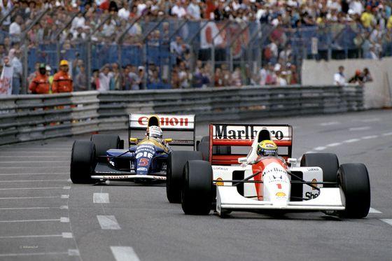 Monaco 1992 Ayrton #F1 #Senna