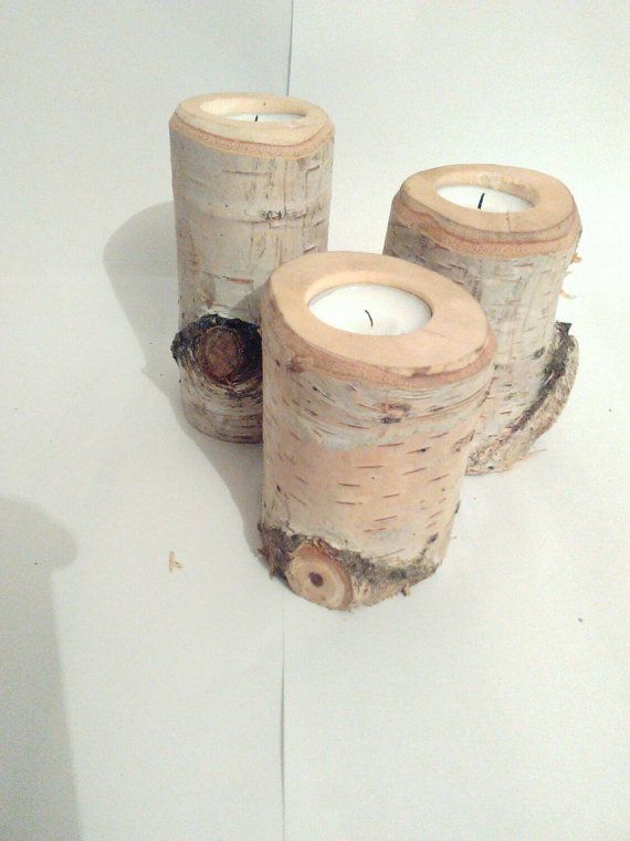 Hey, I found this really awesome Etsy listing at https://www.etsy.com/listing/259992678/tree-birch-branch-candle-holder-set-of-3