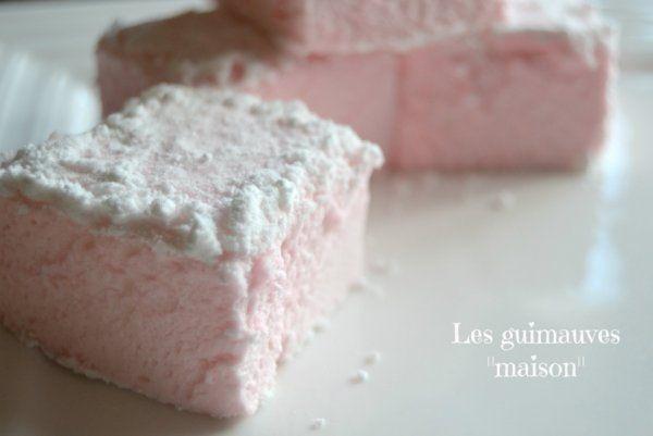 La recette des guimauves - Marie Claire Idées
