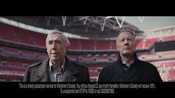 World Cup Heroes united against dementia - Sir Geoff Hurst and Gordon Banks OBE - YouTube