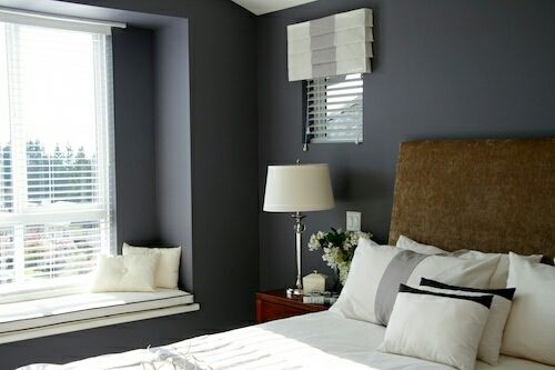 What do you think of Benjamin Moore Shadow 2117-30 as the 2017 Color of the Year? #colortrends2017 #benjaminmoore