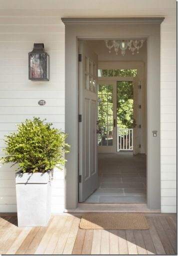 all-american home front door white