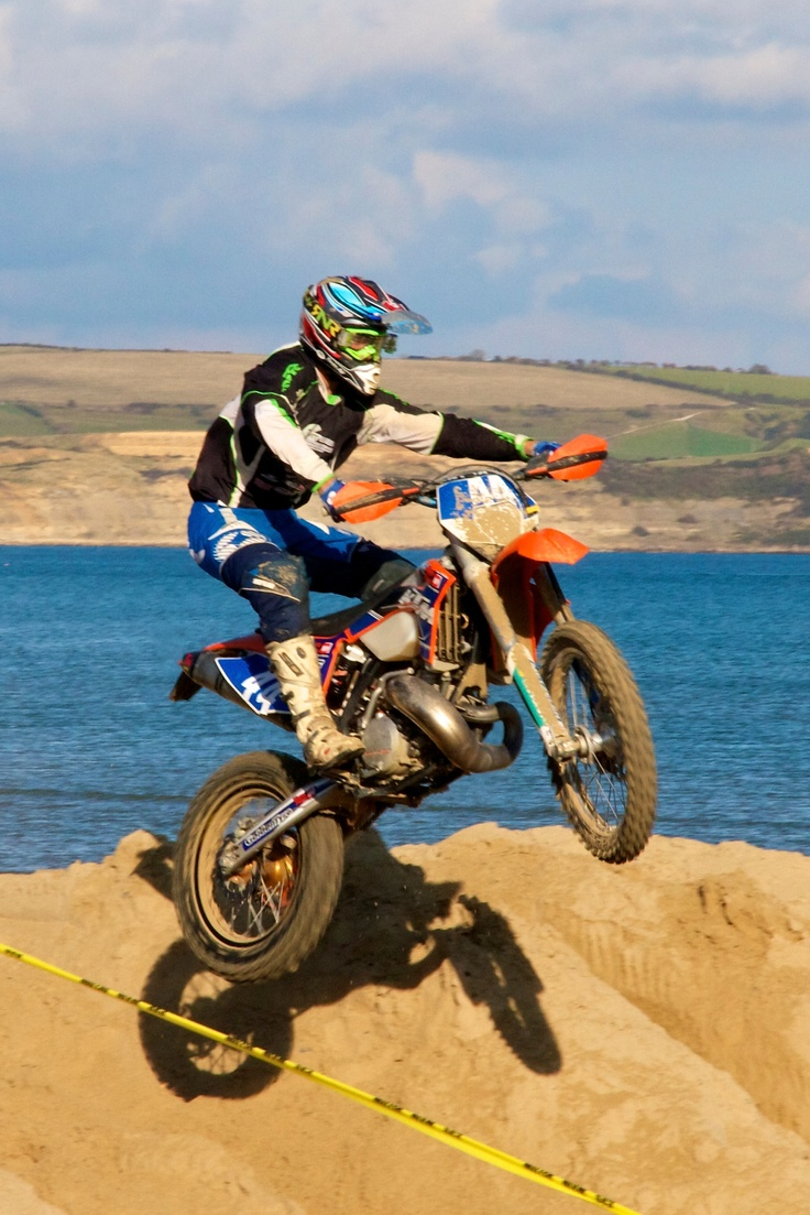 Annual beach Moto x on Weymouth Beach organised by the Lions Club