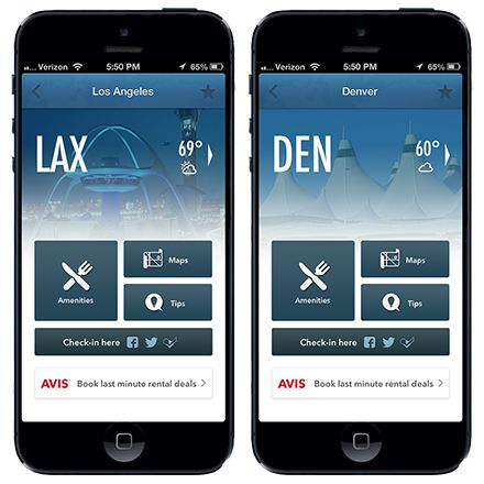 GateGuru is the only travel app (free or paid) that provides real-time flight status with push notifications along with a wealth of airport content specifically customized to YOUR itinerary.