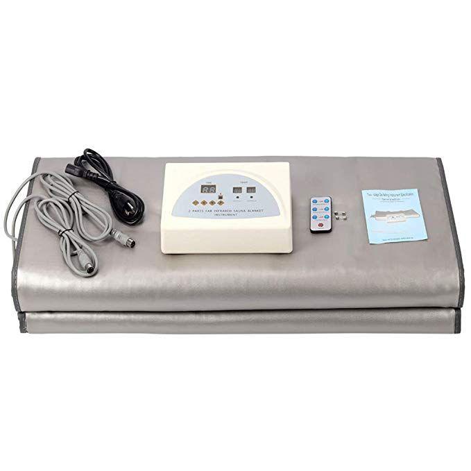 HUKOER Far-Infrared (FIR) Sauna Blanket,<b>Body Shaper Weight</b> ...