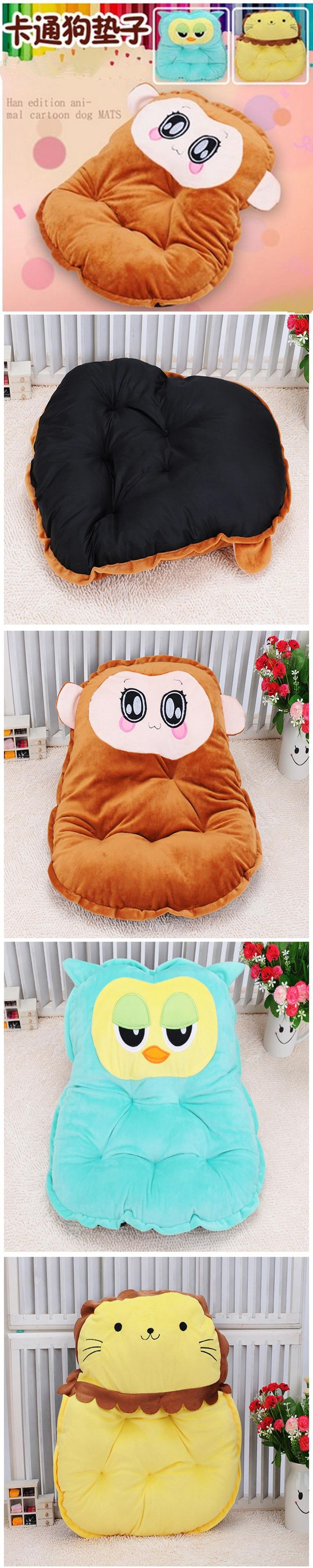 new pp cotton cute dog bed animal cartoon shaped pet dog sofa puppy house flannel kennel