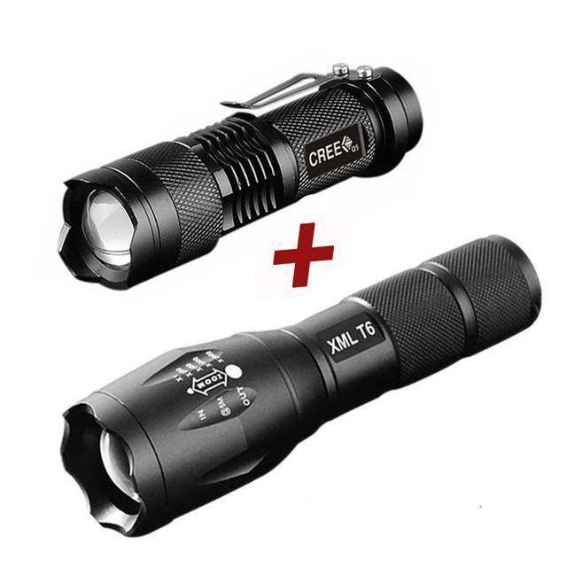LED Flashlight Q5 Mini Torch Lanterna Tactical Flashlight Zoomable Waterproof