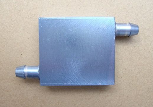 Free shipping 10pcs/lot Side water out Aluminum Water Cooling Block 40x40x12mm GPU CPU Cooler Waterblock