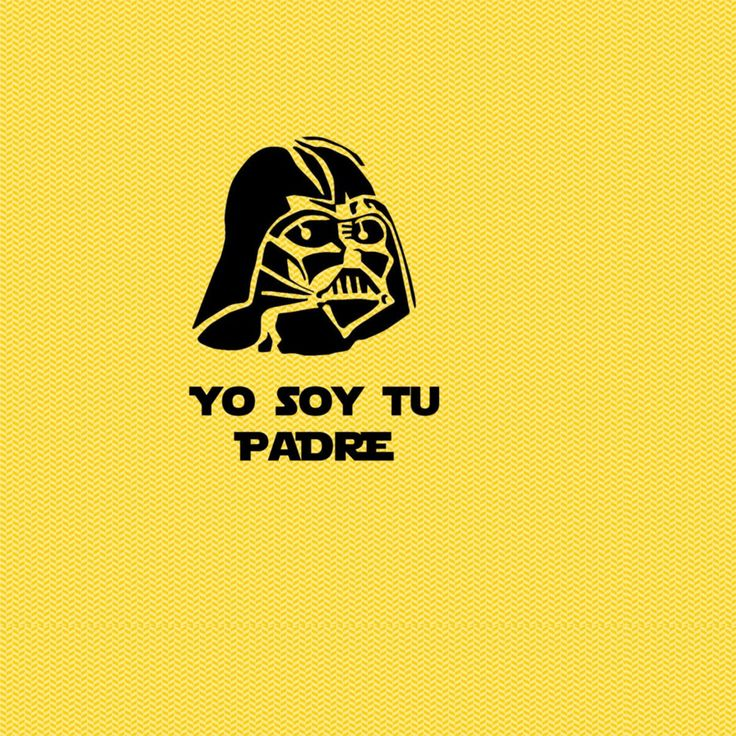 Yo soy tu padre (2)   Estampable