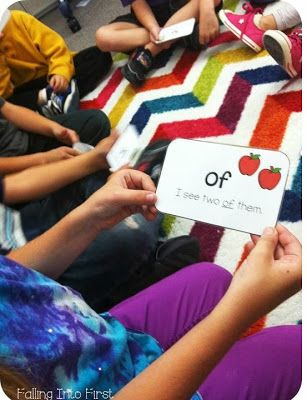 Sight word sentences. Play this a game to help increase fluency.