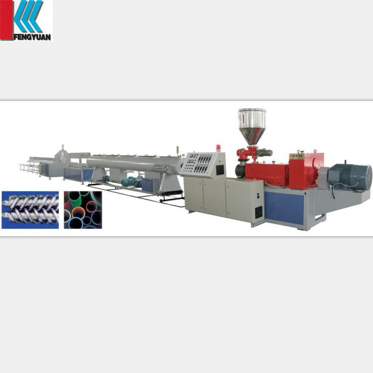 KFY factory price pvc electrical conduit pipe extruding machine