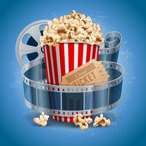 Movie Theater Clipart - Clipartion.com  |Movie Night Page Background