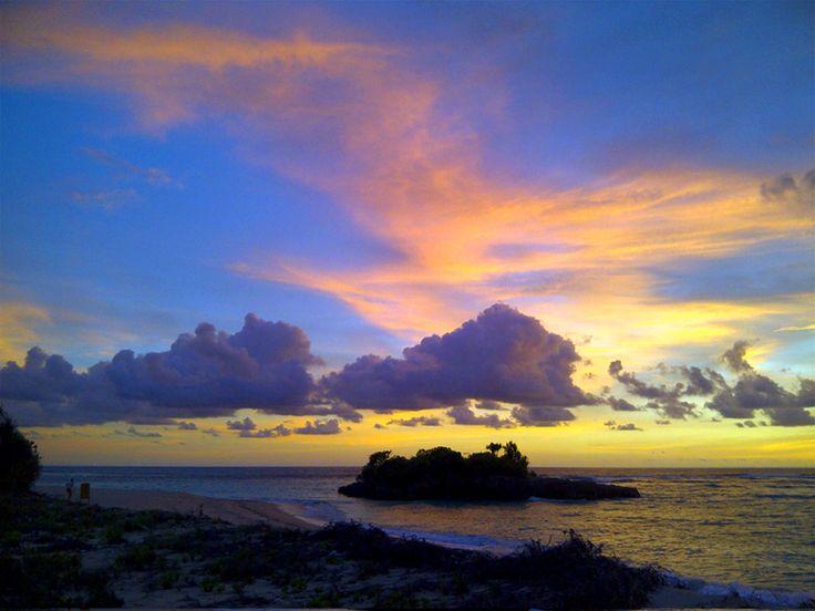 Sunset in Marosi Beach, West Sumba, East Nusa Tenggara, Indonesia. Photo by Kristupa Saragih with BlackBerry 9790