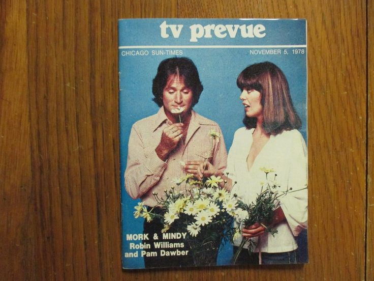 Nov-1978 Chicago Sun-Times TV Prevue Mag (MORK & MINDY/ROBIN WILLIAMS/PAM DAWBER)