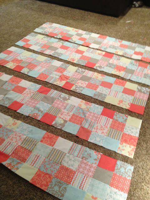 Quilt Patterns For 20 Fat Quarters : Patchwork tutorial with 20 fat quarters Feeling Crafty Pinterest