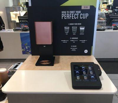 McDonald's Is Testing New Self-Serve Digital Coffee Kiosks