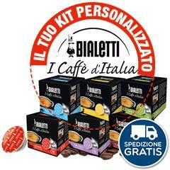 288 CAPSULE BIALETTI MOKESPRESSO I CAFFÈ D'ITALIA A SCELTA