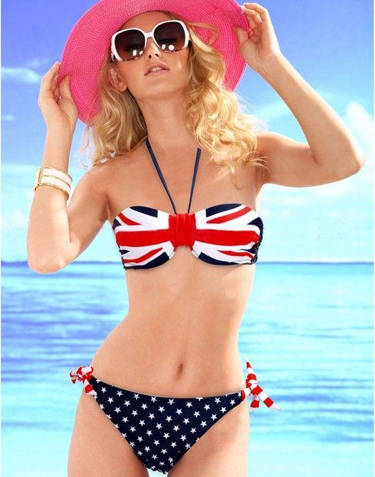 UK Flag Sexy Bikini Swimsuit
