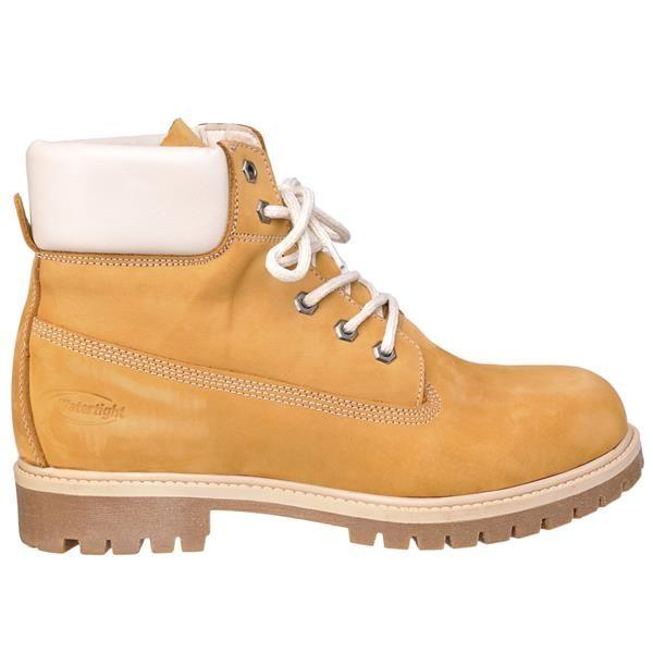 Ботинки желтые высокие