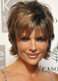 Lisa Rinna - Mature Hairstyles