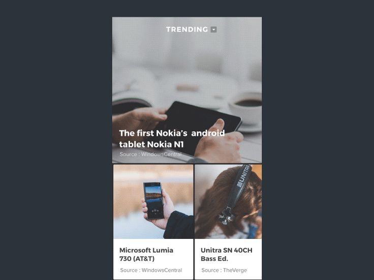 Tech news and review app