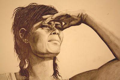 Herkkupurkki: piirros, portrait, drawing By: Satu Laaninen
