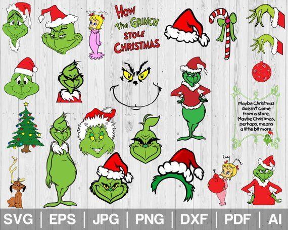 24 Grinch Clipart Svg Grinch Christmas Svg Grinch Printable Grinch Face Svg Cindy Lou Who Svg Merry Christmas Svg Cricu Grinch Face Svg Grinch Grinch Printable