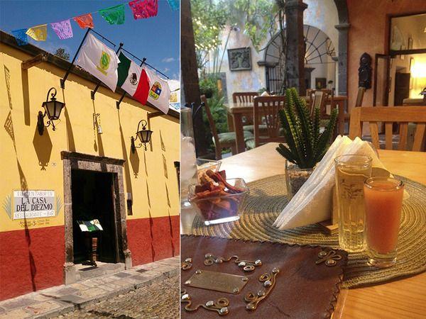 En el #Blog de #Cocina y #Comparte la #CasadelDiezmo en #SanMigueldeAllende #Guanajuato es #reseñada como una deliciosa #opción de #buenrestaurante #yucateco
