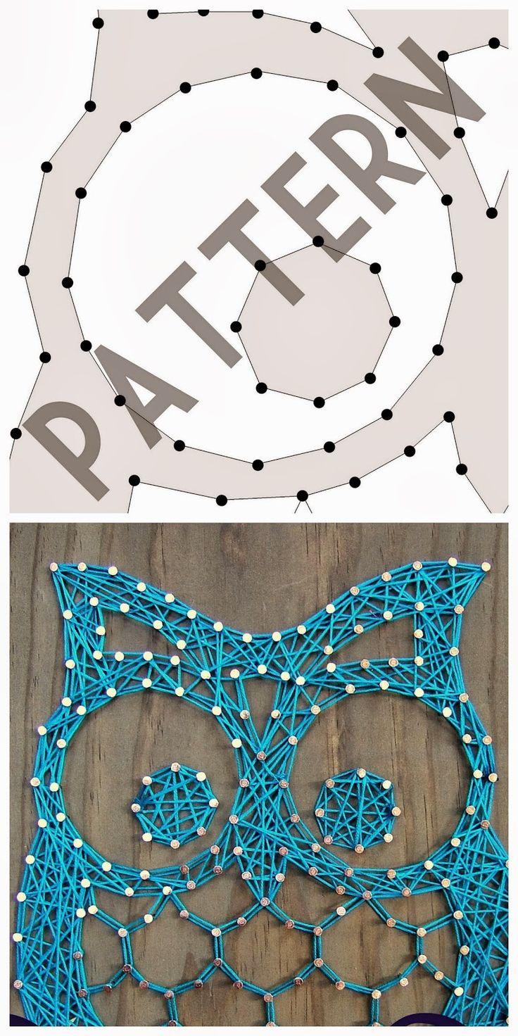nine red string art pattern downloads diy en. Black Bedroom Furniture Sets. Home Design Ideas