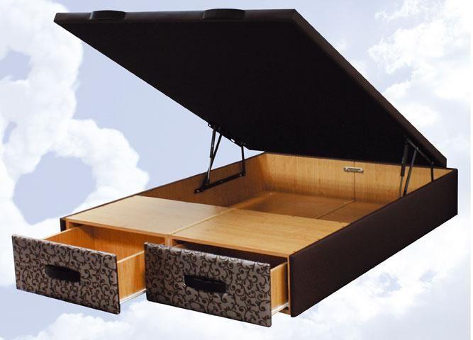 El Canapé StyleBox combina dos cajones por la parte frontal con un práctico y espacioso arcón abatible. Sus cajones frontales con ruedas te permitiran un uso mas frecuente del Canapé, depositando los objetos a guardar de mayor uso en los cajones y los menos utilizados en el Arcón. Gracias a este Canapé conseguirá una Superficie extra de almacenaje, es ideal para habitaciones pequeñas o hábitats con pocos huecos destinados a almacenaje.