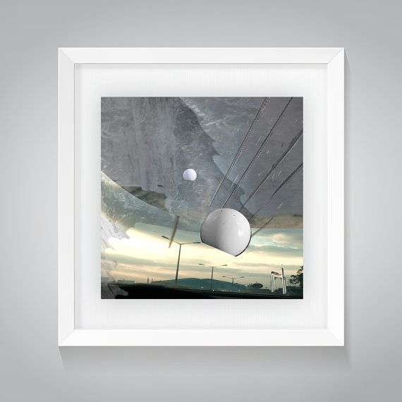 Abstract Art, Apocalypse, Natural Tones, Photo Collage Print, Abstract Art  Photography,