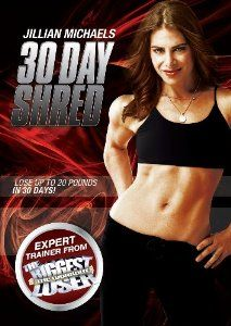 Jillian Michaels: 30 Day Shred [DVD]: Amazon.co.uk: Film & TV  This is the best and quickest workout you can do. Highly recommended.