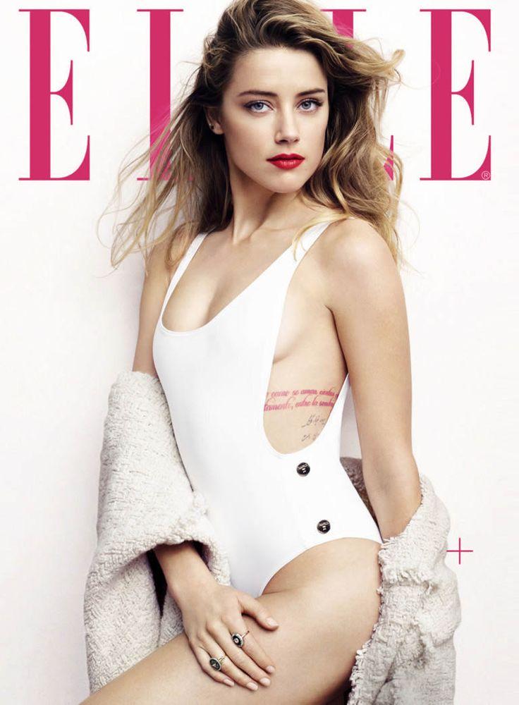 Amber Heard - Liz Collins Photoshoot for Elle